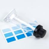 Stickers pantone ( x 4) bleus