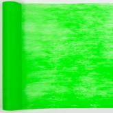 Chemin de table  fluo en non tissé vert
