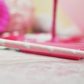 Pailles coeurs (x20) rose &blanc