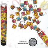 """Canon à confettis """"30ans"""""""