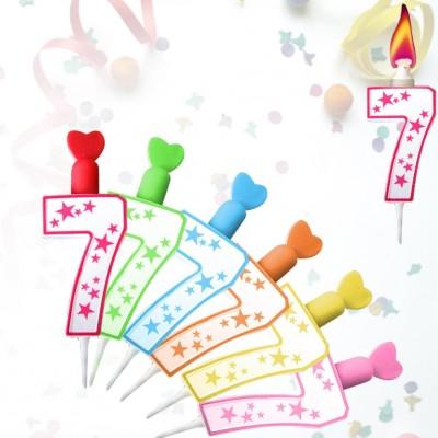 bougie 7 flamme color 233 e maplusbelledeco