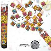 "Canon à confettis ""60aine"""