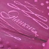 Chemin de table Glamour en organdi