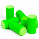 Bouchons de liège  ( X 6 ) vert anis