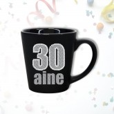 Mug âge « 30 ans » noir