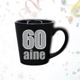 Mug âge « 60 ans » noir