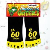 Chaussettes orteils 60 aine noir
