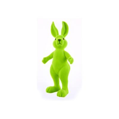 Lapin debout vert anis