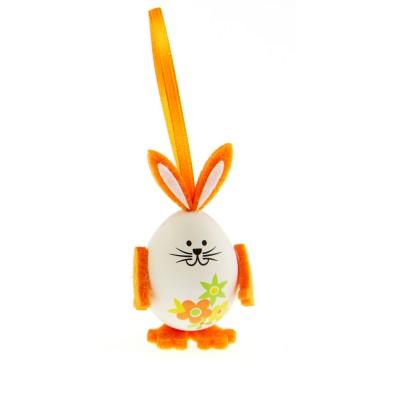 Petits lapins œufs (x3) orange