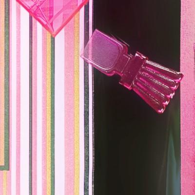 Mini cuillères de couleur (x50) fuchsia