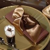 Assiettes à dessert (x10) or