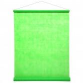 Tenture de salle vert fluo