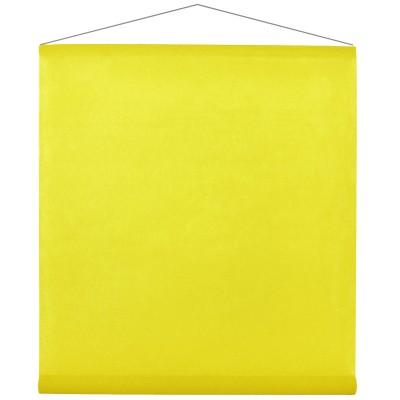 Tenture de salle jaune