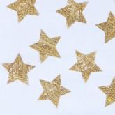 Etoiles en intissé or (x100)