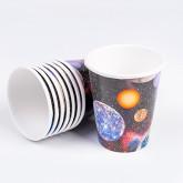 """Gobelets """"Astronautes"""" (x8)"""