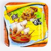 "Assiettes ""Pirates"" (x8)"