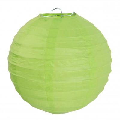 Lampion décoratif grand modèle vert anis