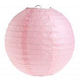 Lampion décoratif grand modèle rose