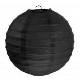 Lampion boule déco noir