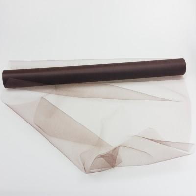 Rouleau de tulle déco chocolat