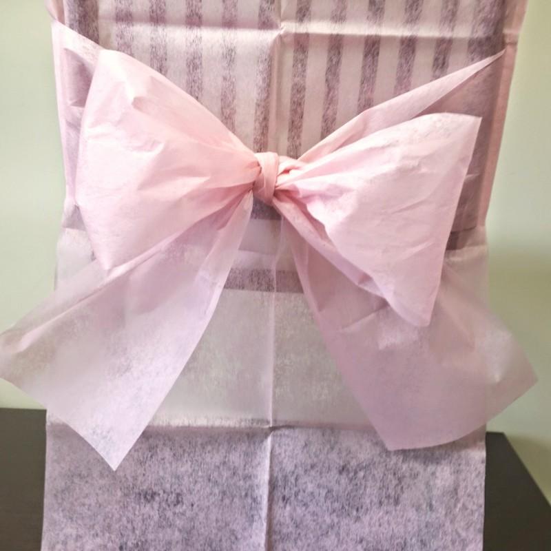 Housses de chaise roses x10 noeud en non tiss - Housse de chaise rose ...