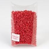 Pépites décoratives rouge