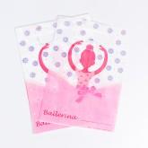 """Pochettes cadeaux """"Danseuse""""(x8)"""