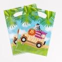 "Pochettes cadeaux Safari""(x8)"""