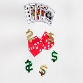 Décoration casino à suspendre