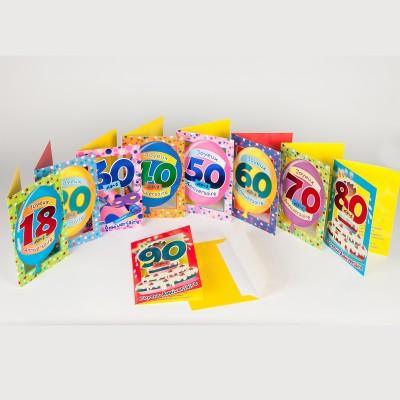 Carte danniversaire 30