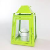 Lanterne grand modèle vert anis