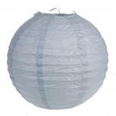 Lampions décoratifs gris (x2)