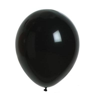 Ballons mats noir (x24)