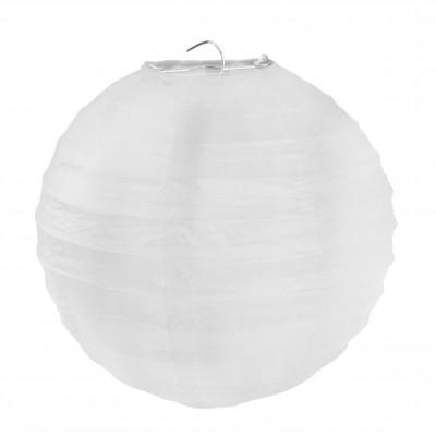 Petits lampions décoratifs (x2) blanc