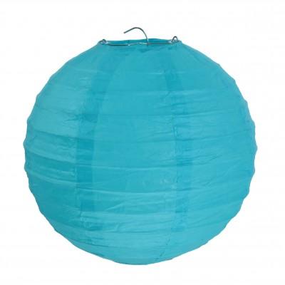 Petits lampions décoratifs (x2) turquoise