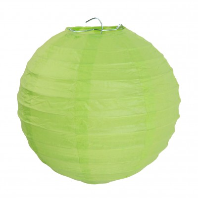Petits lampions décoratifs vert anis (x2)