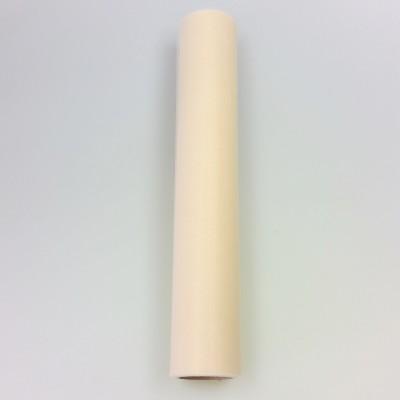 Rouleau de tulle L.30 cm ivoire