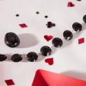 Guirlande de cristaux noir
