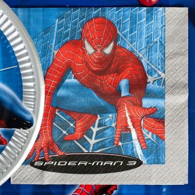 Serviettes SPIDERMAN (x20)