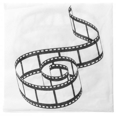 Serviettes thème cinéma (x20)