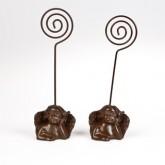 Anges porte nom ou menu (x2) chocolat