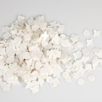 Sachet de confettis blancs blanc
