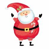 Ballon Père-Noël géant