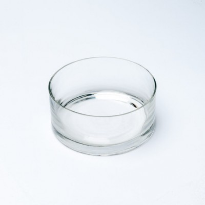 Vasque en verre petit modèle transparent