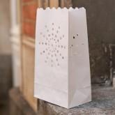 Sacs lumineux avec découpe flocon (x2)