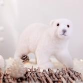 Ours polaire blanc centre de table