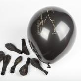 Ballons noirs or flûtes de champagne (x8)