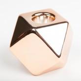 Bougeoir octogonal cuivre
