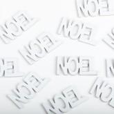 Sachet mot Noël blanc (x12)