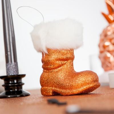 Botte de père Noël cuivre